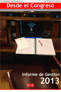 Portada informe de gestion 2013