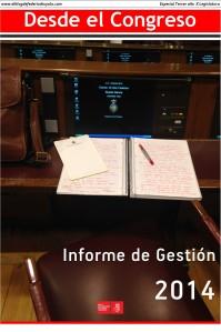 portada informe de gestion 2014